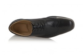 TREDFLEX PB: LEATHER UPPER, LEATHER/SYNTHETIC LINED, RUBBER SOLE