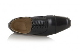 TREDFLEX PO: LEATHER UPPER, LEATHER/SYNTHETIC LINED, RUBBER SOLE