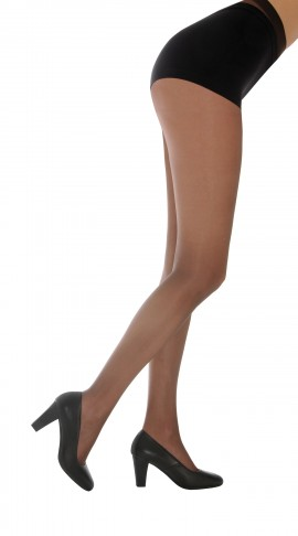 PACK OF 6 SILKY 15 DENIER SHINE TIGHTS IN BARELY BLACK, NUDE, NEARLY BLACK AND MELON: SIZE MEDIUM.