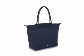 W1 NAVY BLUE NYLON TOTE BAG