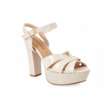PICCADILLY 814004 BEIGE PATENT