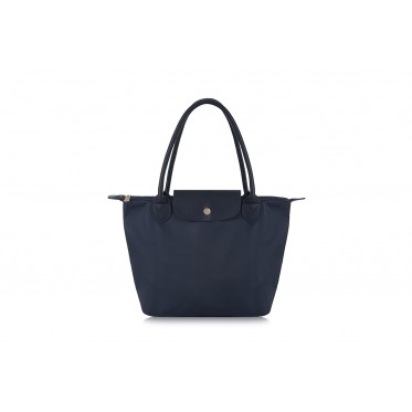 W2 NAVY BLUE NYLON TOTE BAG  (BA APPROVED SIZE)