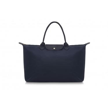 W3 NAVY BLUE NYLON TOTE BAG