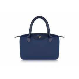 W5 NAVY NYLON TOTE BAG