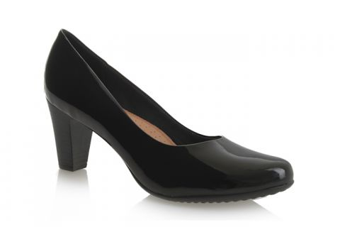 PICCADILLY 130136 BLACK PATENT