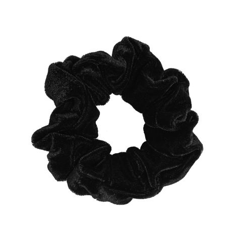 MOLLY & ROSE BLACK VELVET SCRUNCHIE