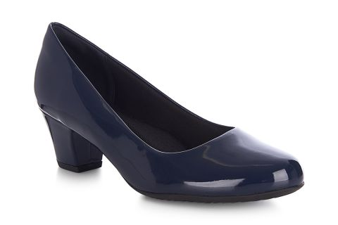 PICCADILLY 110120 NAVY PATENT SYNTHETIC