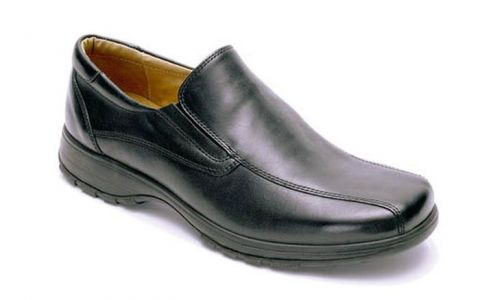 DB Nelson Black: Leather Upper, Leather Lined