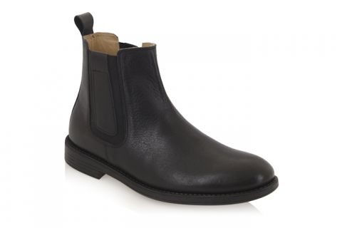TREDFLEX TF4136A CHELSEA BOOT: LEATHER UPPER, LEATHER LINED.