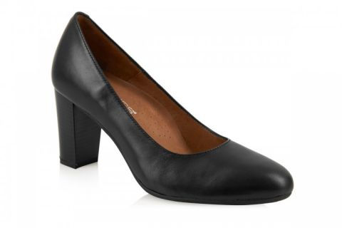AEROBICS VANAIR BLACK: LEATHER UPPER, LEATHER LINED,RUBBER SOLE