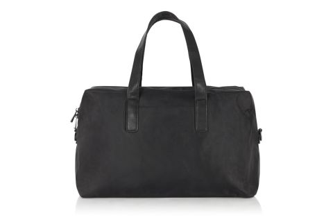 BM1109 BLACK NYLON TOPPER BAG