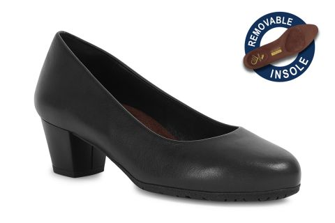 TOTALFLEX CABIN MODEL 3: BLACK LEATHER WITH REMOVABLE INSOLES