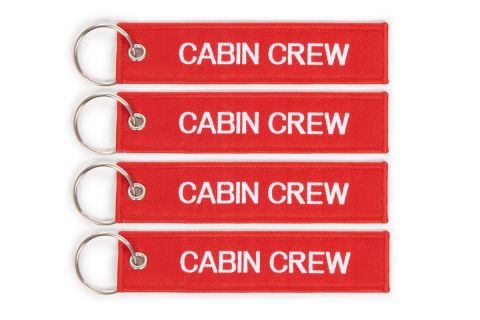 SET OF 4 CREW TAGS