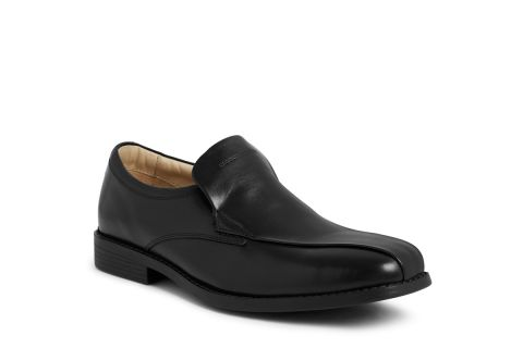 TREDFLEX TF5068 BLACK:  LEATHER UPPER, LEATHER/SYNTHETIC LINED, RUBBER SOLE