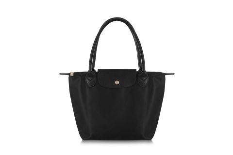 W2 BLACK NYLON TOTE BAG (BA APPROVED SIZE)