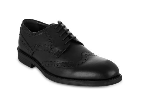 TREDFLEX WINDSOR 4183 BLACK: LEATHER UPPER, LEATHER/SYNTHETIC LINED, RUBBER SOLE